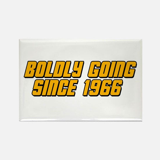 Boldly Going Since 1966 Rectangle Magnet