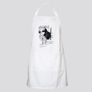 Thoughful reader Apron