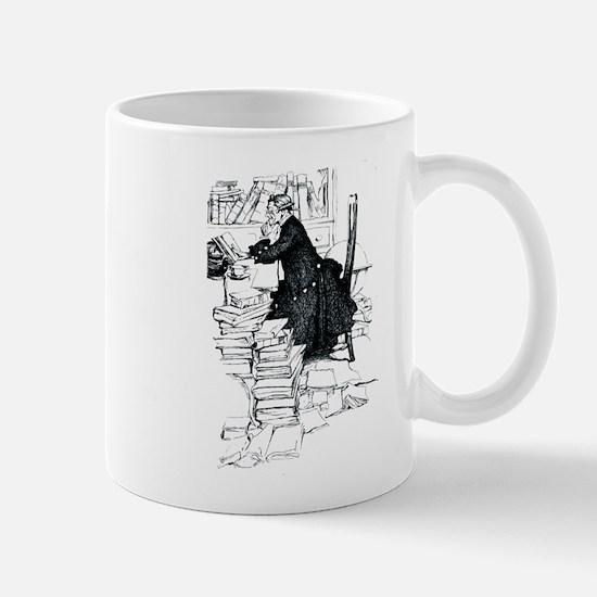 Thoughful reader Mug