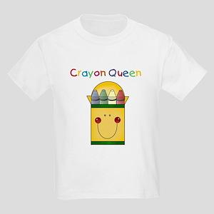 Crayon Queen Kids T-Shirt