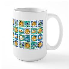Coffee & Doughnuts Large Mug