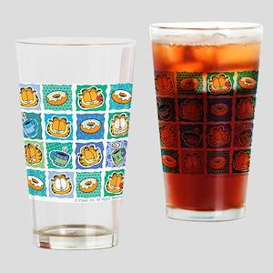 Coffee & Doughnuts Drinking Glass