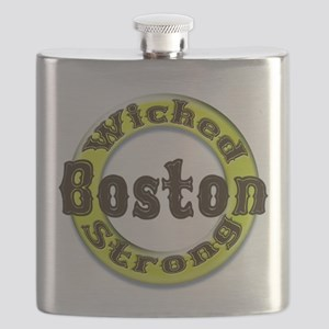 WS Bruins Classic Flask