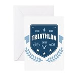Triathlon Greeting Cards (Pk of 10)