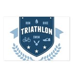 Triathlon Postcards (Package of 8)