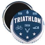Triathlon Magnet