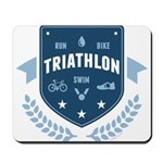 Triathlon Mousepad