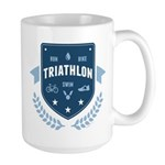 Triathlon Large Mug