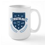Triathlon Large Mug