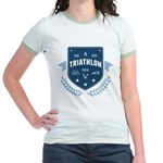 Triathlon Jr. Ringer T-Shirt