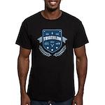 Triathlon Men's Fitted T-Shirt (dark)