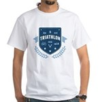 Triathlon White T-Shirt