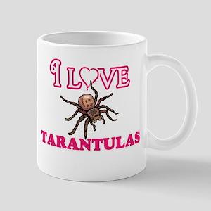 I Love Tarantulas Mugs