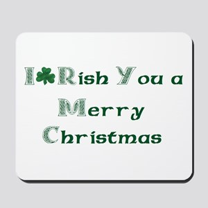 Irish Christmas Mousepad