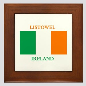 Listowel Ireland Framed Tile