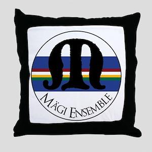 Magi Ensemble Sing Baltically Throw Pillow