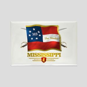 Mississippi -Deo Vindice Rectangle Magnet