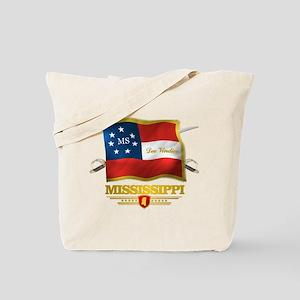 Mississippi -Deo Vindice Tote Bag