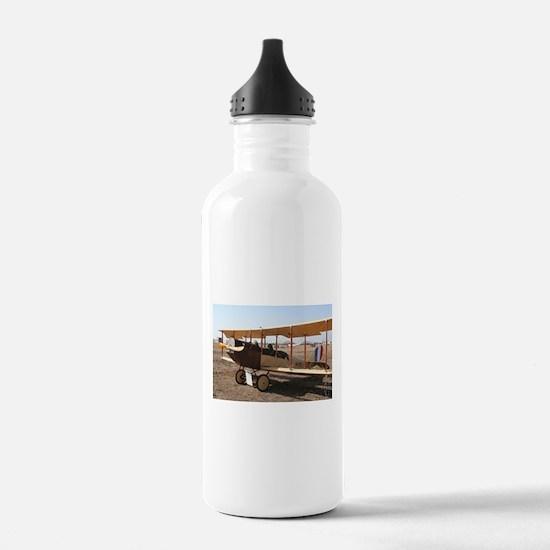 Curtiss Jenny Biplane Aircraft Water Bottle