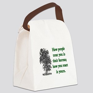 KARMA Canvas Lunch Bag
