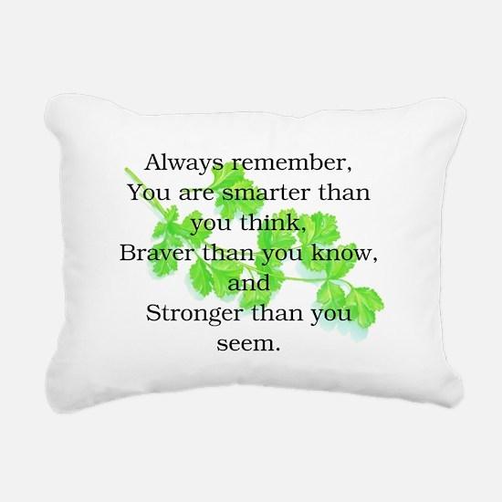 ALWAYS REMEMBER.. Rectangular Canvas Pillow