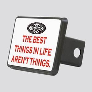 BEST THINGS IN LIFE Rectangular Hitch Cover