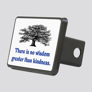 WISDOM GREATER THAN KINDNESS Rectangular Hitch Cov