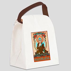 BUDDHAFUL Canvas Lunch Bag