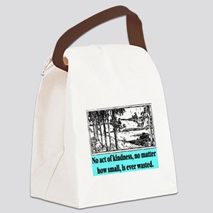 ACT OF KINDNESS.. Canvas Lunch Bag