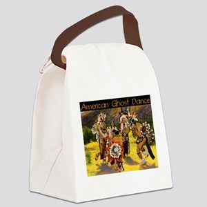 AMERICAN GHOST DANCE Canvas Lunch Bag