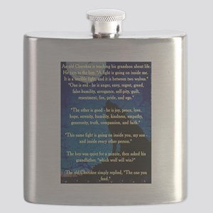 CHEROKEE LESSON Flask