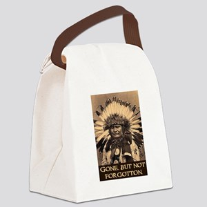 GONE, BUT NOT FORGOTTON Canvas Lunch Bag