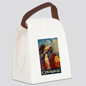 COURAGE 2 Canvas Lunch Bag