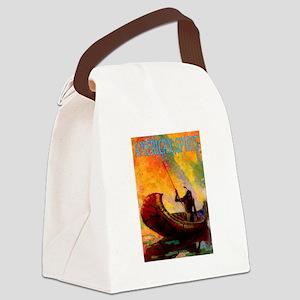 AMERICAN SPIRIT Canvas Lunch Bag