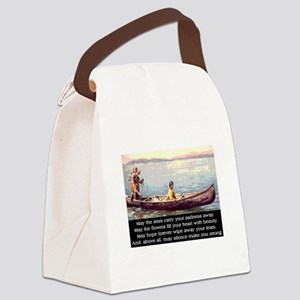 THE WISDOM OF SILENCE Canvas Lunch Bag