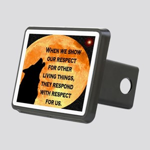 SHOW RESPECT FOR ALL Rectangular Hitch Cover