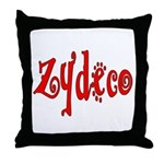 Zydeco Throw Pillow