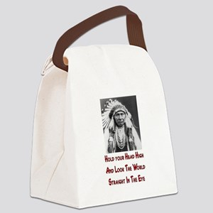 HOLD YOUR HIGH! Canvas Lunch Bag
