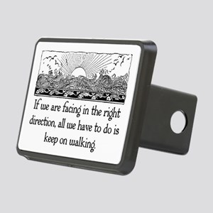 THE RIGHT DIRECTION Rectangular Hitch Cover