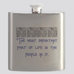 MOST IMPORTANT PART OF LIFE Flask