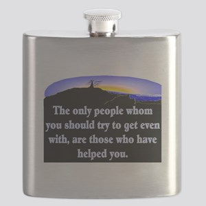 GET EVEN WITH KIND PEOPLE Flask