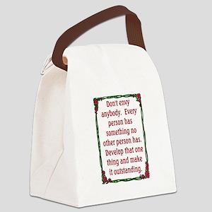 DON'T ENVY Canvas Lunch Bag