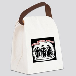 HEAR NO EVIL.. Canvas Lunch Bag