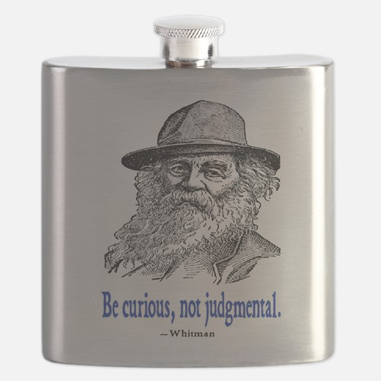 WHITMAN QUOTE Flask