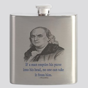 FRANKLIN QUOTE Flask