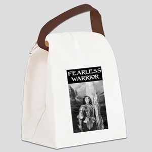 FEARLESS WARRIOR Canvas Lunch Bag