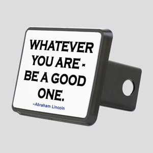 BE A GOOD ONE! Rectangular Hitch Cover