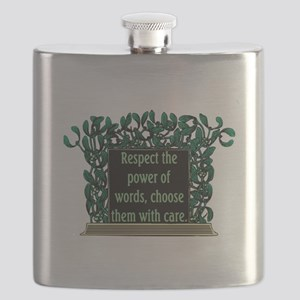 THE POWER OF WORDS.. Flask
