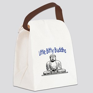 LITTLE BITTY BUDDHA Canvas Lunch Bag