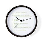 Desmond Wall Clock